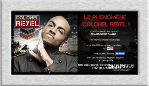 Colonel Reyel booking