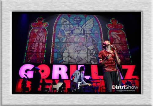 GORILLAZ booking