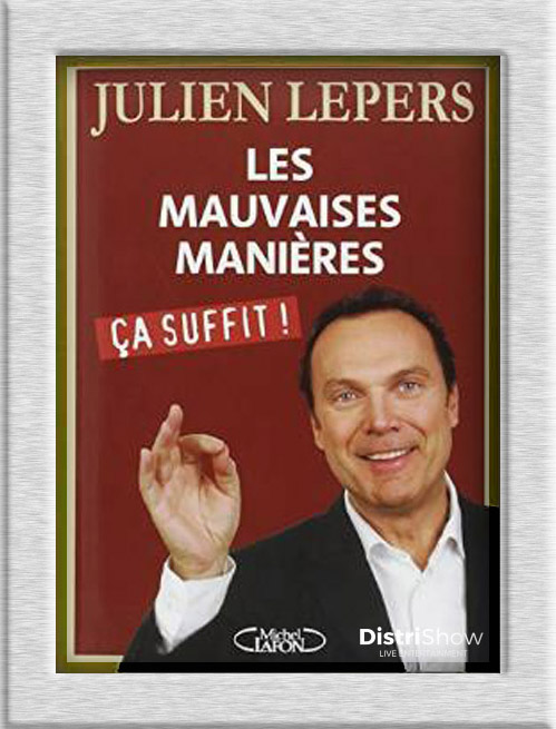 Julien Lepers booking