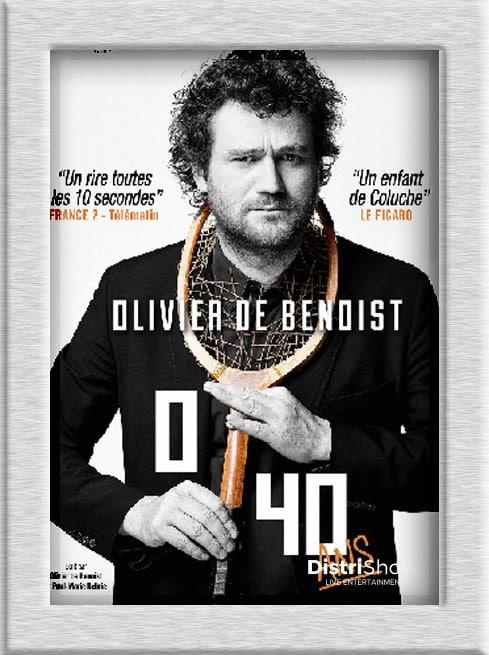 Olivier de Benoist booking