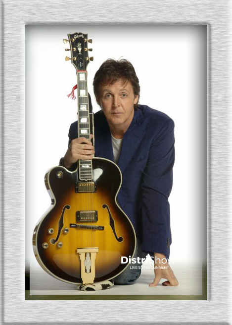 Paul McCartney booking