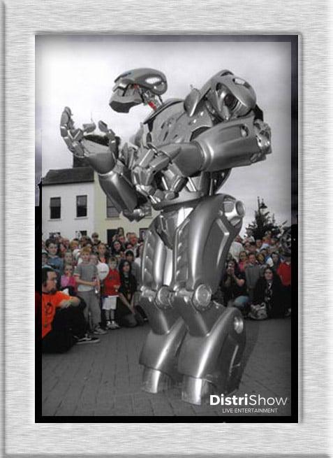 Robot Titan booking