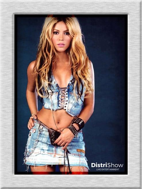 Shakira booking