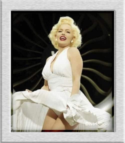 Sosie de Marilyn Monroe booking