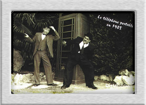 Sosies de Laurel et Hardy booking