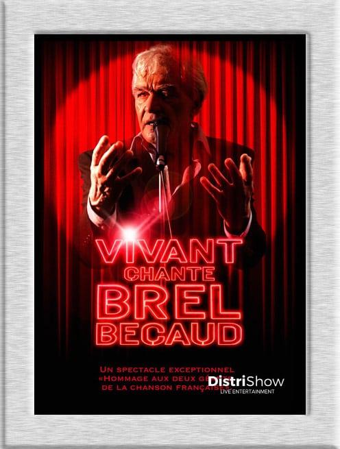 Spectacle Brel Bécaud booking